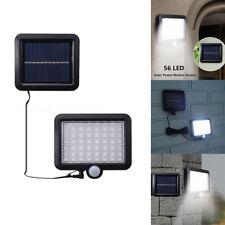 56LED lumières de paysage lampe jardin d'énergie solaire Capteur de mouvement