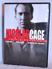 Triple Feature Dvd - Face/Off, Snake Eyes, Bringing out the Dead, Nicholas Cage