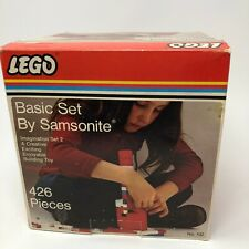 Vintage LEGO 102 Basic Set by Samsonite 426 pieces ~ In Box Bags Sealed