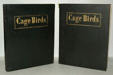 Cage Birds And Bird Fancy Magazines - 1950 - 44 Issues Only - Bound.