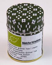 Bio Matcha Grüner Tee 40 Kirishima Japan Pulveltee Grüntee vegan detox green tea