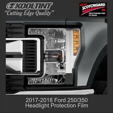 Headlight Protection Film by 3M for a 2017 2018 Ford F250 Superduty Truck