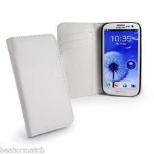 E-Volve Samsung Galaxy S3 Funda de Piel Funda Tipo Cartera Ranuras para Tarjetas
