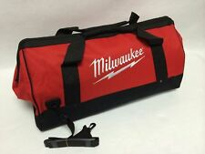 "New Extra Large 25 Inch Milwaukee Heavy Duty Tool Bag 25""L x 11""W x 12""D"