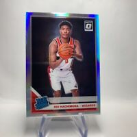 NBA Card 188 Optic Rated Rookie Silver Holo Rui Hachimura Wizards