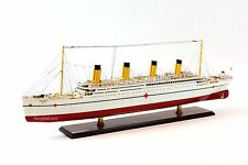 HMHS Britannic White Star Line Olympic-Class Ocean Liner Wooden Ship Model 40""