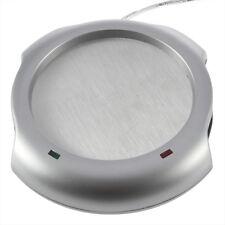 USB Tea Coffee Cup Mug Warmer 4 Port USB Hub For PC Notebook Heater Pad GN