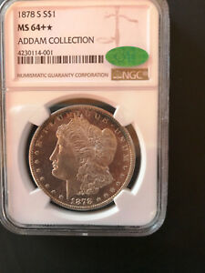 1878 S 7tf  Rev 78 $1 Morgan NGC MS64+* CAC DMPL?