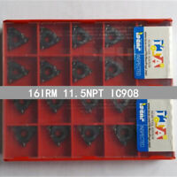 ISCAR 16IRM 11.5NPT IC908 Threaded blade Carbide Inserts 10Pcs