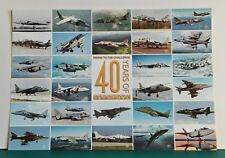 A4 COLOURED PHOTOGRAPHIC PRINT '40 YEARS OF JET STOVL'