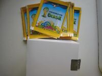 VISA Panini World Cup FIFA Brazil 2014 Stickers promotional box 80 packs STARS