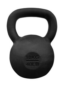Cast Iron 18 KG Kettlebell.