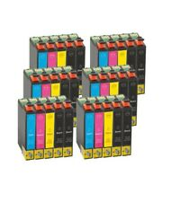 Pack 4 cartuchos T0711/2/3/4 compatible con Epson