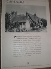 Worthington beer Welford-on-Avon advert 1936 ref AZ