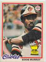 1978 O-Pee-Chee Must See Condition! Eddie Murray Rookie #154