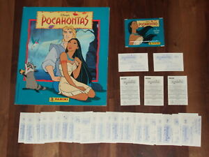 Pocahontas 1995 Complete Panini Sticker Album, loose stickers with a Twist…