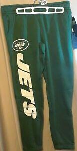 New York Jets NFL Women's Jogger Pants Relax Fit Fleece Sweatpants NWT