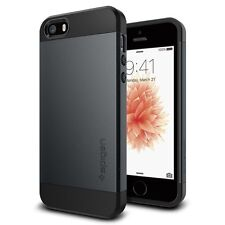 SPIGEN Case Slim Armor for iPhone SE / 5S / 5 Metal Slate
