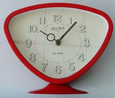 acctim putney metal mantel clock glass lens