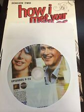 How I Met Your Mother - Season 2, Disc 2 REPLACEMENT DISC (not full season)