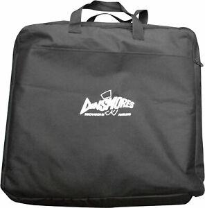 Dinsmores Zipped Keepnet bag Take upto 2 Keepnets + Outer Net Pocket - Black