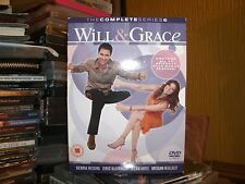 Will And Grace - Season 6 - Complete (DVD, 2005, Box Set) 6 DISCS