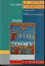 La Divina Commedia - Paradiso commento Bosco, Reggio