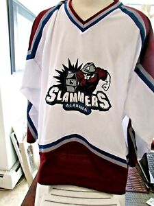 Alabama Slammers Hockey Jersey (World Hockey Association 2) Size XXL