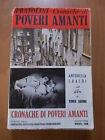 Vasco Pratolini CRONACHE DI POVERI AMANTI Vallecchi 1954 fascetta film Lizzani
