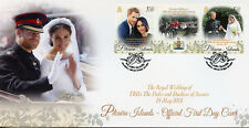 Pitcairn Isl 2018 FDC Prince Harry Meghan Royal Wedding 2v Cover Royalty Stamps