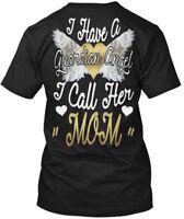 Custom-made Guardian Angel Mom - I Have A Call Her Hanes Tagless Tee T-Shirt