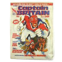 Captain Britain #1 UK comic magazine 1985 Marvel First issue