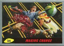 Mars Attacks The Revenge Silver [10] Base Card #24 Making Change