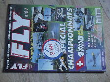 $$4 Revue Fly International N°67 PLan encarte Indoor 280  Me 109 E  Cap 232