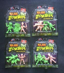 Slug Zombies Series 4 Set 2012 Jakks Pacific Lot S.L.U.G.