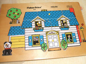 Vintage Fisher-Price House jigsaw.