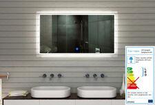 Badspiegel Spiegel kalt/warmweiß Ledlicht Badezimmerspiegel Acrylrahmen 135x75cm
