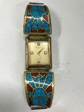 Vintage Nikolet Watch turquoise