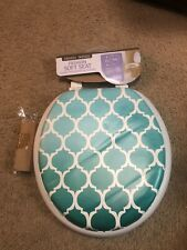 Teal Toilet Seat Cover