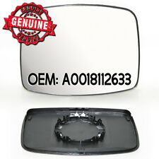 Side Wing Silver Mirror Glass Heated &Base For Mercedes Vito Viano V class 96 04