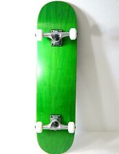 "8.0"" Green Complete Pro Skateboard  5.0 Trucks + 52mm Wheels"