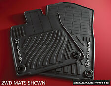 Lexus GS350 (2013-2017) (AWD) (ALL WHEEL DRIVE) 4pc OEM ALL WEATHER FLOOR MATS