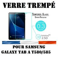 "Lot/ Pack Film Verre Trempe Samsung Galaxy Tab A6 10.1"" SM-T580NZWAXEF"