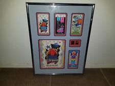 1992 Orlando NBA All Star Game Tickets , Pins, Program Professional Framed