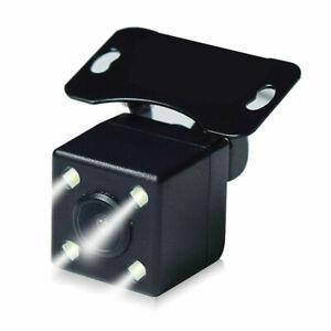 Universal 4LED 5pin Car Reverse Parking Camera Rear View LED Sensor Cam for DVR