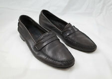 YSL Yves Saint Laurent Leather Loafers