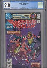 Wonder Woman #289 CGC 9.8 1982 DC Comics Huntress Back-Up Story Doc. Psycho App