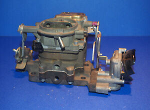 1961-1964 Oldsmobile 394ci Carter 2BBL Carburetor NOS Reman 4877S OEM *Damage*