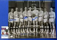 1952-53 LAKERS MULTI-SIGNED 16x20 PHOTO ~4 AUTOS George Mikan ~ JSA KK24715