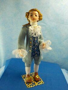 1:12 Dollhouse Miniatures Dolls---Albert ---A Young (Teen) Georgian Gentleman